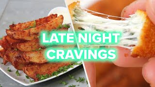 9 Snacks To Fix Your Late Night Cravings • Tasty