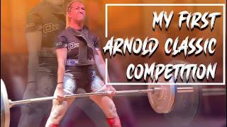 Arnold Classic 2020 XPC Powerlifting. Trip to Columbus, Ohio