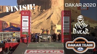 Best Dakar rally finish for Tim and Tom Coronel in the Beast 3.0