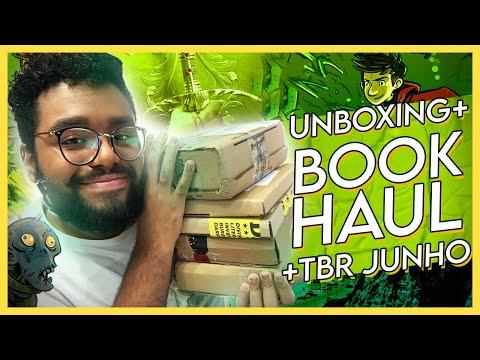 BOOK HAUL UNBOXING + TBR JUNHO | LEO ALVES
