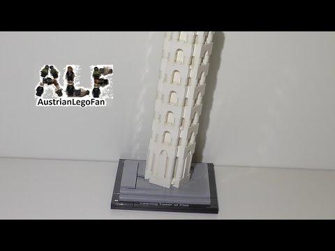 Vidéo LEGO Architecture 21015 : La Tour de Pise (Pise, Italie)