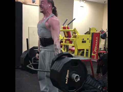 555 hex bar deadlift at 150 lb bodyweight