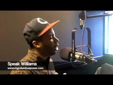 Speak Williams in the studio
