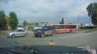 Новосибирск. ДТП на Богдашке.