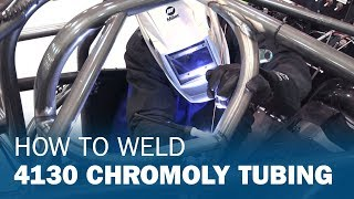 How to TIG Weld 4130 Chromoly Tubing