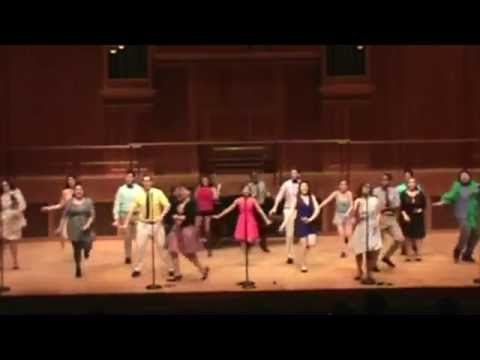 Choreographed piece of work from Queens College Musical Theater Review