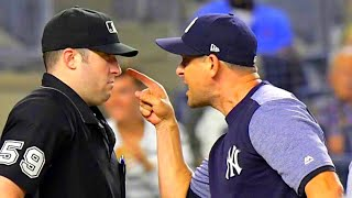 Aaron Boone getting Pissed Off