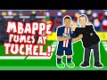 🤬MBAPPE fumes at TUCHEL!🤬 The touch-line substitution argument!