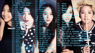 F X ❤에프엑스 Best Songs Compilation 노래모음 2009-2015