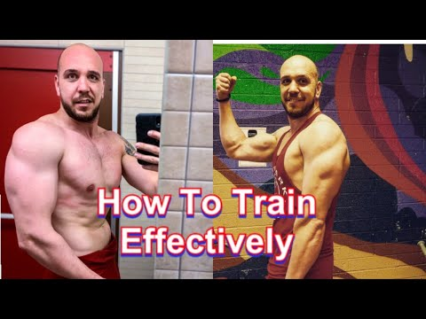 How To Train Effectively|Tips/Advice|GYM