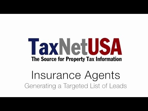 TaxNetUSA Intro to Pro for Insurance: Find Homes Ready to Renew