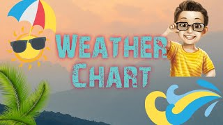 Weather Chart For Kids|How To Make Easy Weather Wheel|Educational Crafts For Kids|Easy Weather Clock