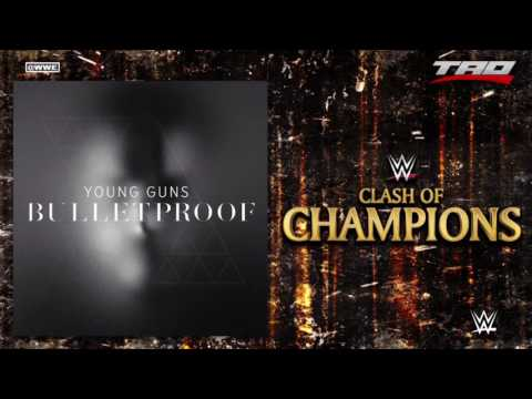 """WWE: Clash Of Champions 2016 - """"Bulletproof"""" - Official Theme Song"""
