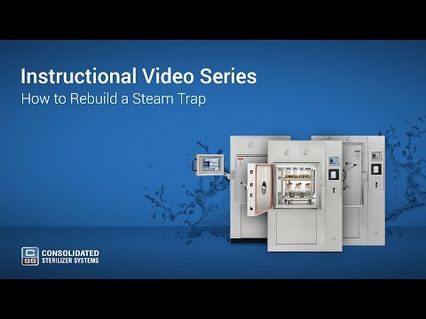 How to Rebuild an Autoclave Steam Trap