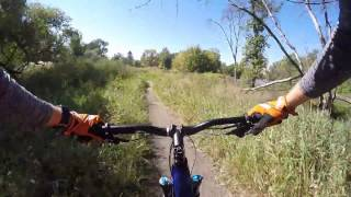 Here is one full lap on Gooseberry Park Trail in Moorhead, Minnesota.