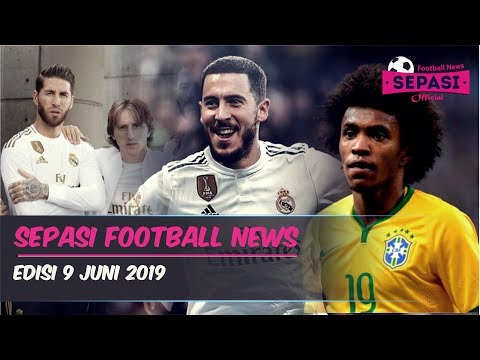 Hazard Resmi Milik Madrid🤝Willian Gantikan Neymar👍Jersey Baru Madrid⚽️Berita Bola Terbaru Hari Ini