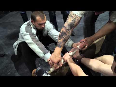 Мастер класс по мас-рестлингу от Максима Руденко