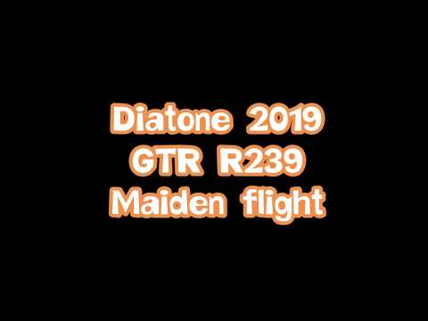 Diatone 2019GTR R239 Maiden flight