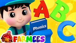 Phonics Song | ABC Song | Nursery Rhymes | Kids Songs | Childrens Video by Farmees