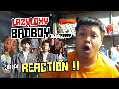 LAZYLOXY - BADBOY FT. MAIYARAP  | Reaction by Phuwa9