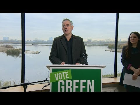 Campaign Live: Green Party launches election manifesto promising to tackle climate change   ITV News