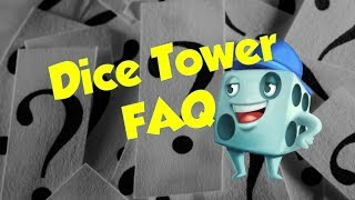 Dice Tower FAQ - with Tom Vasel