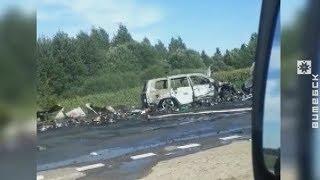 Стали известны подробности жуткой аварии под Оршей (01.08.2018)