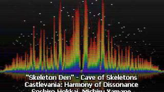 Skeleton Den - Cave of Skeletons - Castlevania: Harmony of Dissonance