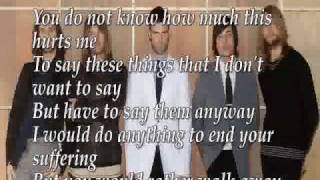 Maroon 5 - Not Coming Home lyrics