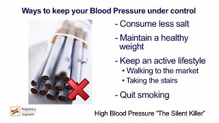 Why Is High Blood Pressure A Silent Killer? - SingHealth Healthy Living Series