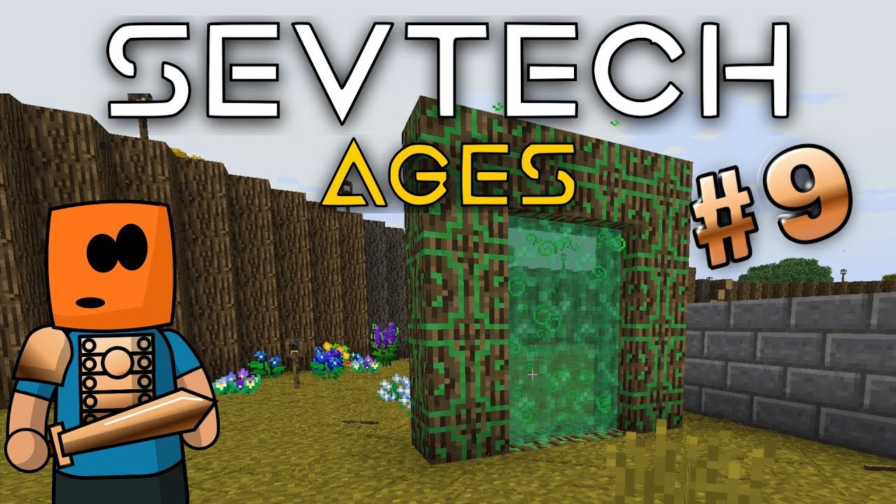 Minecraft - Hunting Dimension, Blood Alter - SevTech Ages #9