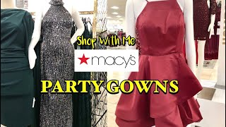 Macys Shop With Me PROM HOMECOMING DRESSES