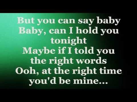 BABY CAN I HOLD YOU (Lyrics) - TRACY CHAPMAN