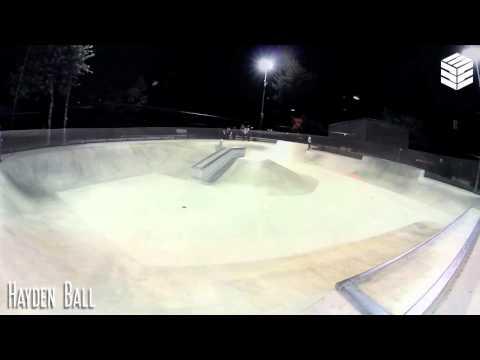 Shredding Poway Skate Park
