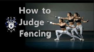 How to Judge a Fencing Match