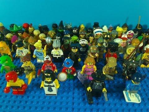Vidéo LEGO Minifigures 8805 : Série 5