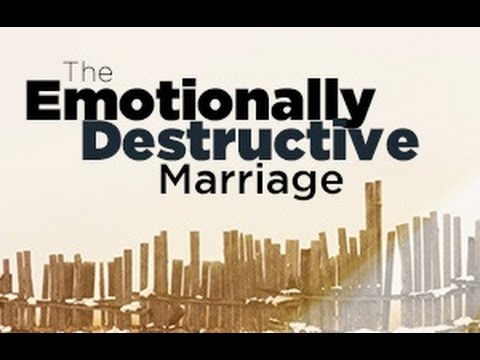 The Emotionally Destructive Marriage Webinar