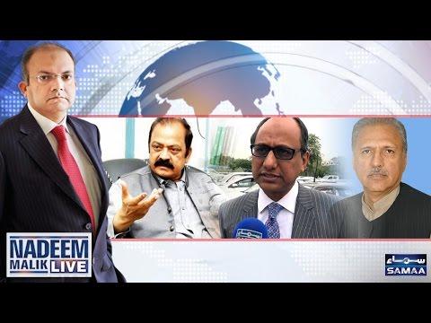 Intikhabat Ki Taiyari Shuru? | Nadeem Malik Live | SAMAA TV | 30 March 2017