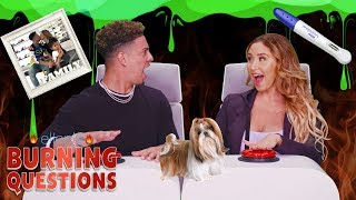 "Ellen puts YouTubers Austin McBroom and Catherine Paiz in the hot seat to answer some of her hottest ""Burning Questions."" The ACE Family spills it all, from the biggest mess their kids have made, to a secret they've kept from their parents, to who their celebrity crushes are.   Check out more of The Ace Family by visiting their channel: https://www.youtube.com/channel/UCWwWOFsW68TqXE-HZLC3WIA  #BurningQuestions #AceFamily #TheEllenShow"
