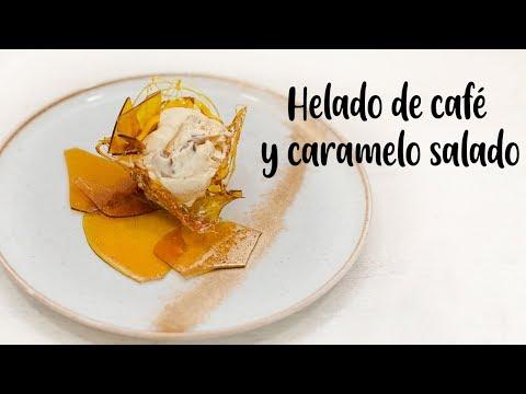 HELADO DE  CAFÉ Y CARAMELO SALADO