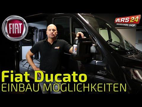 Fiat Ducato Sound und Autoradio - Überblick über alle Einbaumöglichkeiten | ARS24