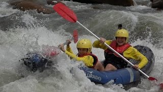 Sports Rafting on the Tully River - Exciting Adventure in the Wet Tropics - Warm, Wet and Wild!