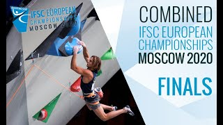 IFSC European Championships Moscow 2020 - Combined Finals by International Federation of Sport Climbing