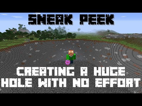 Nuke Perimeter - An easy way to clear a perimeter 1 13+ Minecraft