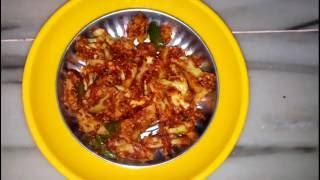OIL FREE Flower tava bhaaji / Gobi tava bhaaji / Cauliflower tava bhaji
