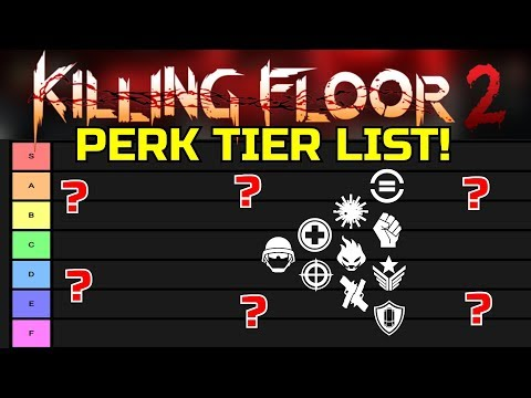 Killing Floor 2 | RANKING ALL KILLING FLOOR 2 PERKS! - Best And Worst Perks In The Game!