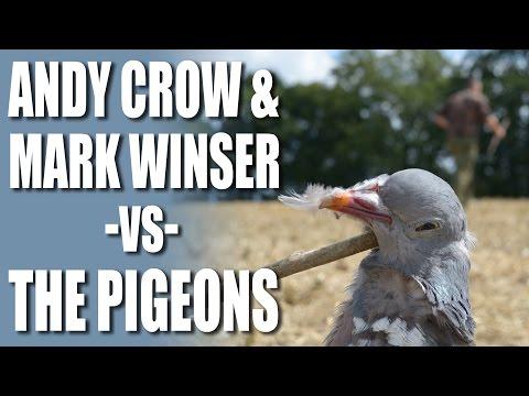 Top shots Andy Crow & Mark Winser versus the Pigeons