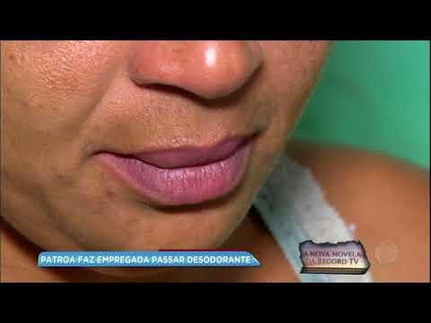 Empregada denuncia patroa após ser obrigada a passar desodorante