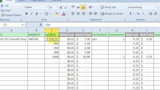 Basic Excel Formulas   Add, Subtract, Divide, Multiply