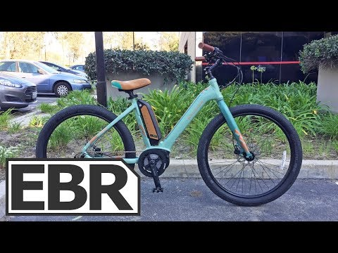 Raleigh Venture iE Video Review – $2.5k Wave Electric Cruiser, Three Sizes, Teal and Black